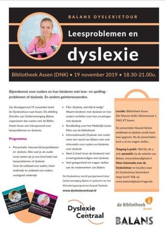flyer dyslexietour klaar
